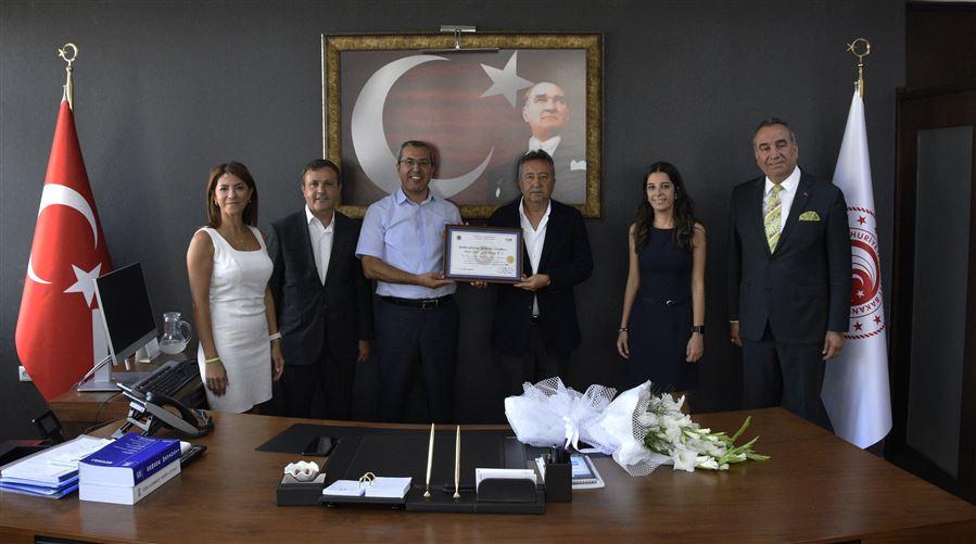 İzmir Demir Çelik A.Ş. 'den Bölge Müdürlüğümüze Ziyaret