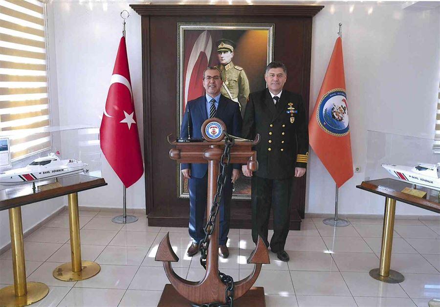 Ege Deniz Bölge Komutanlığı'na Ziyaret