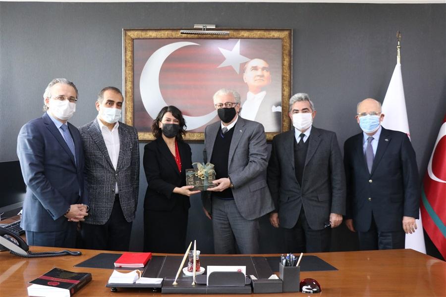 Ege İhracatçılar Birliğinin Bölge Müdürümüze Ziyareti
