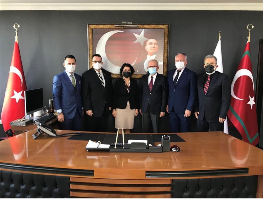 İzmir Ticaret Odasından Bölge Müdürümüze Ziyaret
