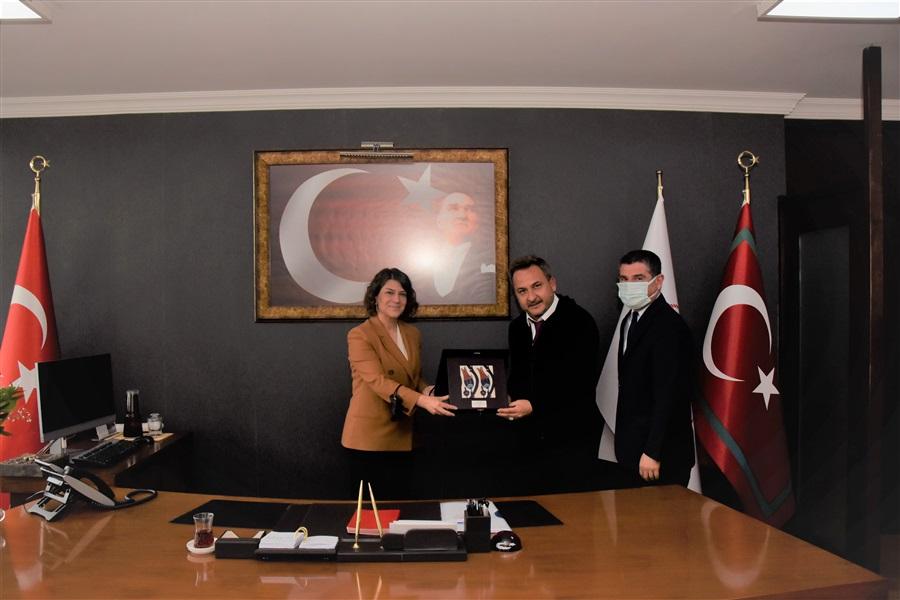 Uluslararası Nakliyeciler Derneğince Bölge Müdürümüze Ziyaret
