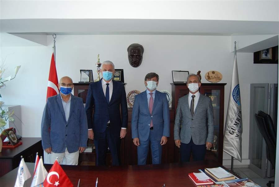 Bölge Müdürümüzün İzmir Gümrük Müşavirleri Derneğini Ziyareti