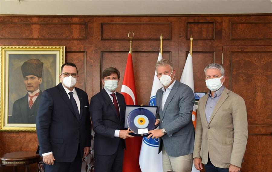 Bölge Müdürümüzün İzmir Ticaret Odasını Ziyareti