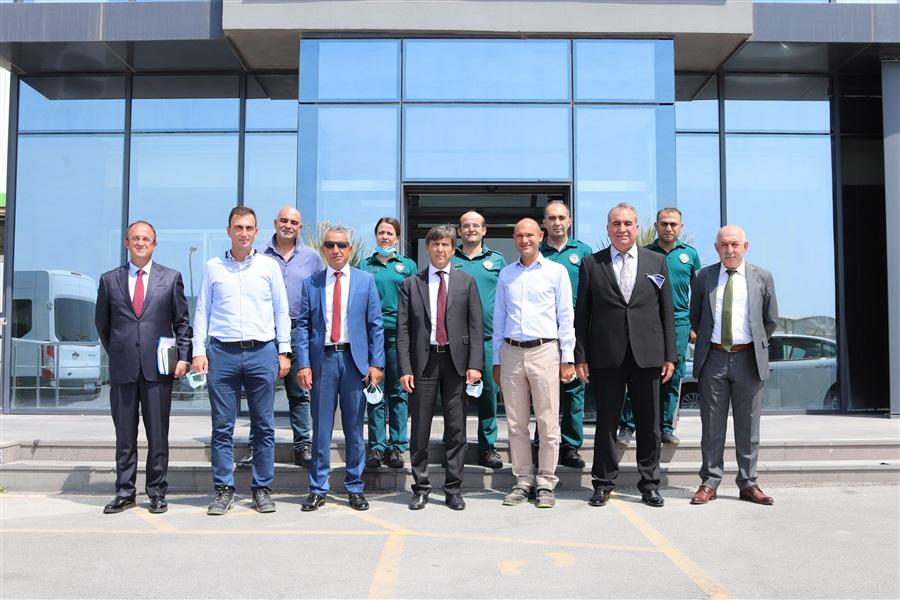 Bölge Müdürümüz ve beraberindeki heyet TPI Kompozit Kanat San. Ve Tic. A.Ş. firmasını ziyaret etti.