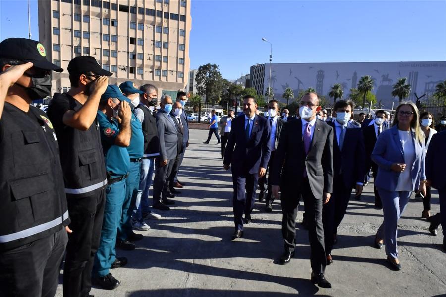 Bakanımız Sayın Mehmet Muş, Bölge Müdürlüğümüze teşrif ettiler