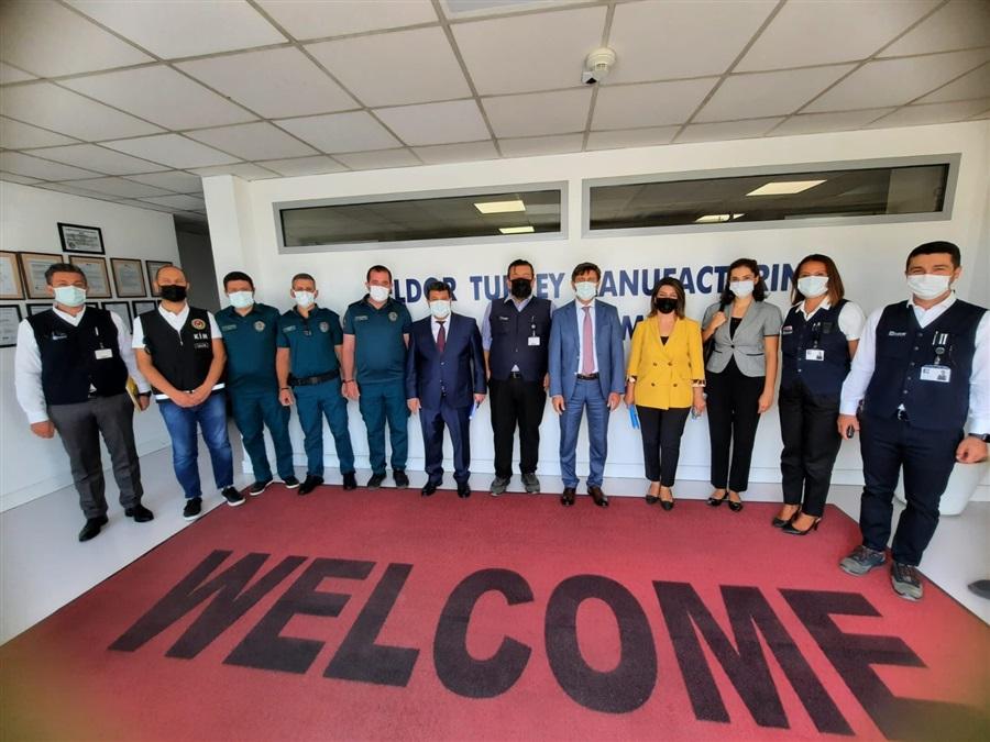 Bölge Müdürümüz ve beraberindeki heyet ELDOR Elektronik ve Plastik Malzemeleri Üretim ve Ticaret Ltd. Şti. firmasını ziyaret etti.