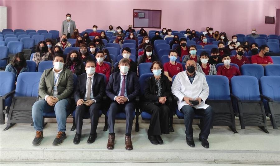 Bölge Müdürümüz İzmir Dış Ticaret Mesleki ve Teknik Anadolu Lisesi'ni ziyaret etti